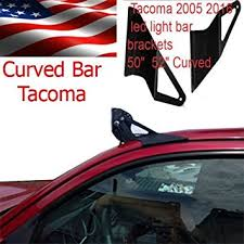 toyota tacoma light bar roof mount amazon com 50 curved off road led light bar roof top mount