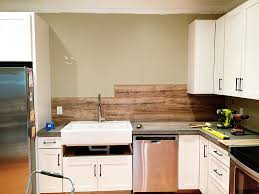 wood backsplash kitchen laminate flooring backsplash it looks like wood bower power wood