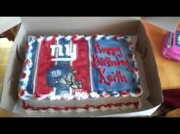 my birthday cake go giants youtube