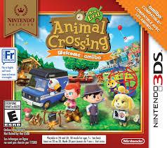 nintendo selects animal crossing new leaf welcome amiibo