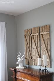 Wooden Window Shutters Interior Diy 7 Inspiring Ways To Use Vintage Shutters On Your Walls