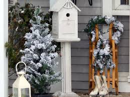 Door Decorations For Winter - winter decorating ideas for your porch decorating ideas for winter