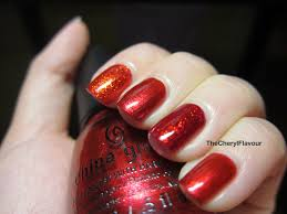 the cheryl flavour china glaze happy holiglaze collection