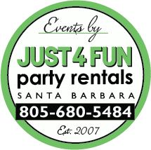 party rentals santa barbara party rentals just 4 party rentals in santa barbara 805 680 5484