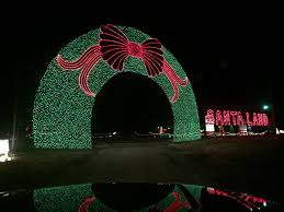 worlds largest light display 24 acres santa land 2 5