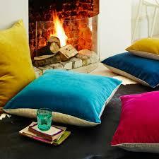 acheter coussin canapé coussin canape acheter un coussin 60x60 colore accessoires
