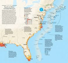 Sea Level Map Usa by Box 1 Storm Of The Century Every Two Years Scientific American