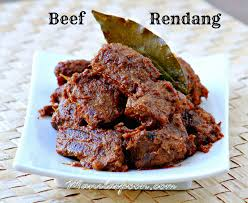 beef rendang beef curry coconut milk and stew