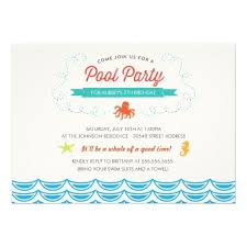 375 best ocean birthday party invitations images on pinterest