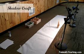 nature crafts for kids shadow craft naturally teaching