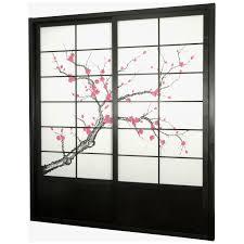 sliding panels room divider oriental furniture shoji double sided sliding door kit room