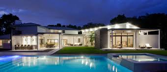 modern florida house plans lighting evening pool lighting modern retreat in davie florida