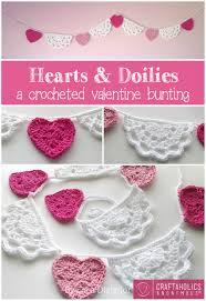 heart doilies craftaholics anonymous hearts and doilies crochet