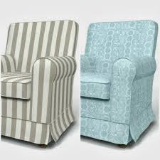 Slipcovers For Rocking Chairs Rosa Beltran Design Vintage Chair Turned Nursery Rocker