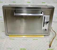 vtg mint usa swanson stainless steel recessed toaster built in