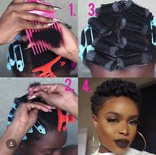 Roller Set Hairstyles 19 Best Perm Rods Images On Pinterest Hairstyles Natural Hair