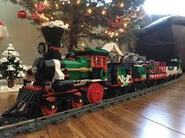 christmas train under our tree lego christmas tree tr u2026 flickr