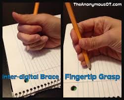 when to u201cfix u201d a pencil grasp the anonymous ot