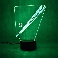 Bat Light Fixture Novelty Visual Colorful Light Fixture Usb Table L Creative