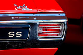 1970 chevelle tail lights 1970 chevrolet chevelle ss convertible taillight emblem photograph