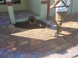 Lowes Polymeric Paver Sand by How To Seal Pavers For A High Gloss Wetlook
