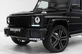 mercedes g class blacked out mercedes benz brabus g500 hypebeast
