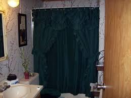 free bathroom emerald green shower curtains fancy tie back like