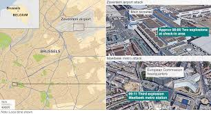 Map Of Twin Cities Metro Area by Brussels Explosions What We Know About Airport And Metro Attacks