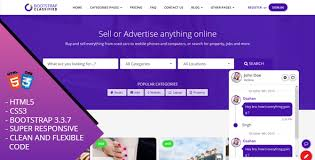 obootstrap classified bootstrap responsive website template by