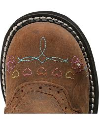 justin light up boots justin children s gypsy light up heart embroidered cowgirl boots