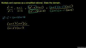 multiplying rational expressions multiple variables video