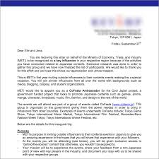 Japanese Embassy Letter Of Invitation 8 outstanding invitation letter sle japan ebookzdb