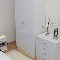 otto white high gloss bedroom furniture 35 329 bedroom furniture Bedroom Furniture White Gloss