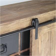 meuble cuisine porte coulissante porte coulissante meuble cuisine frais buffet industriel porte