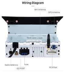 honda pilot audio system 7 inch 1024 600 touch screen 2009 2013 honda pilot android 6 0 gps