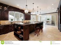 Kitchens With Dark Wood Cabinets Dark Wood Kitchens Home Design Ideas And Pictures