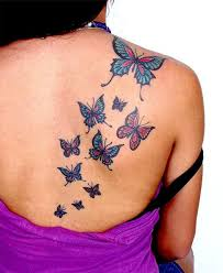 15 gorgeous shoulder butterfly desgns butterfly