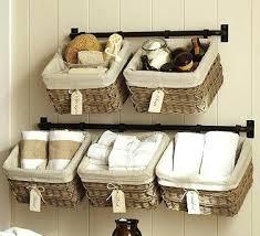 Baskets For Bathroom Storage Storage For Bathrooms Bathroom Towel Storage Ideas Baskets