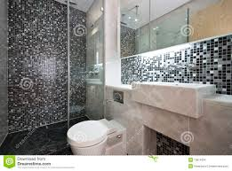 bathroom detail with toilet and wash basin royalty free stock