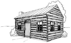 Log Cabin Drawings | how to draw a log cabin howstuffworks