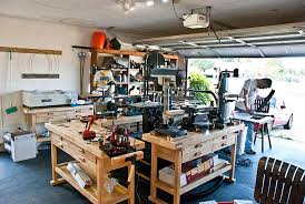 how to turn your garage into the ultimate diy workshop harbor