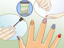 how to give yourself a caviar manicure with pictures wikihow