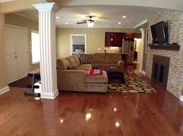 Basement Finishing Costs by Finished Basement Traditional With Remodeling A Light Kit5