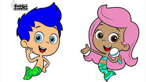 bubble guppies colouring pages funycoloring