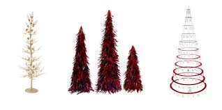 modern christmas 27 modern christmas trees for decorations contemporary