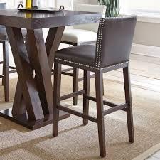 bar stools nailhead counter height stools western saddle bar