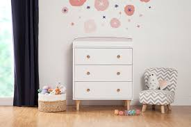 Babyletto Dresser Changing Table Lolly 3 Drawer Changer Dresser With Removable Changing Tray