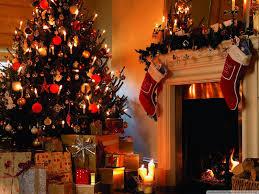 christmas tree house uhd desktop wallpaper for ultra hd 4k 8k