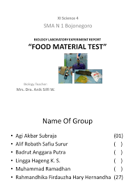 Lab Report Sample Biology Biology Laboratory Experiment Report