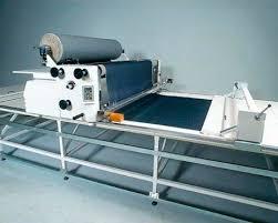 semi automatic cutting table multi ply fabric shipyard ref